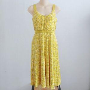 Boden Jemma Jersey Marigold Sleeveless Dress